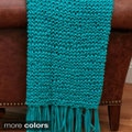 Paige Braided Chunky Knit 50x60 Throw Blanket