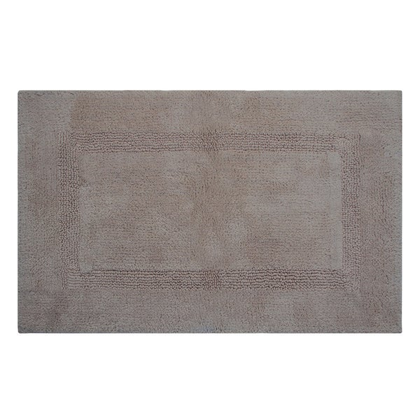 Lux 100 Percent Cotton Tufted Reversible Rug Or Bath Mat