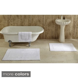 Lux 100-percent Cotton Tufted Reversible Rug or Bath Mat