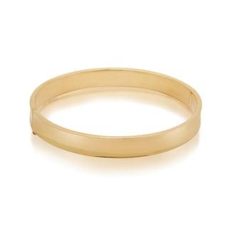 Gioelli 14k Yellow Gold High Polish Bangle Bracelet