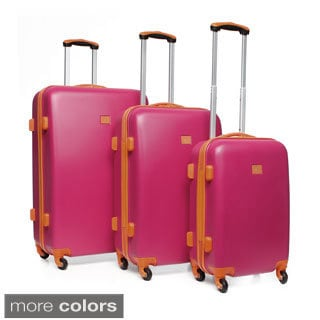 Anne Klein Fast Lane 3-piece Hardside Spinner Luggage Set