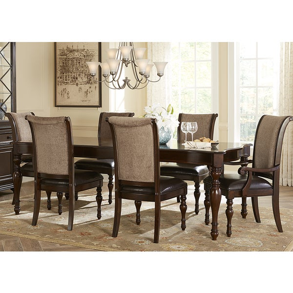Liberty Plantation Cherry 7 Piece Dinette Set Overstock Shopping Big Disc