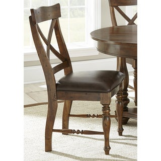 Wyatt Birch Wood Side Chairs (Set of 2)