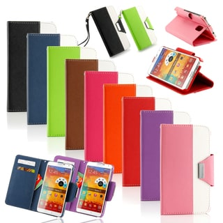 Gearonic Wallet Stand Cover Case for Samsung Galaxy Note 3 III N9000