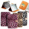 Gearonic Leopard Folio Leather case for Apple iPad Mini 2 with Retina