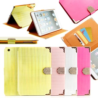 Gearonic Folio Leather Smart Case for Apple iPad Mini 2 with Retina