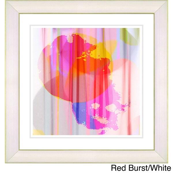 Zhee Singer 'Burst' Framed Fine Art Print 12562999