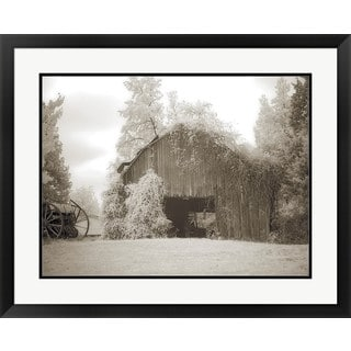 M.B. Phelps 'Barn 2' Framed Art Print