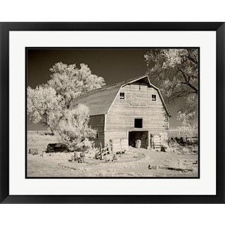 M.B. Phelps 'Barn 1' Framed Art Print