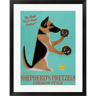 Ken Bailey 'Shepherd's Pretzels' Framed Art