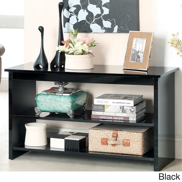 Furniture of America Corzi 2-shelf Side Accent Table