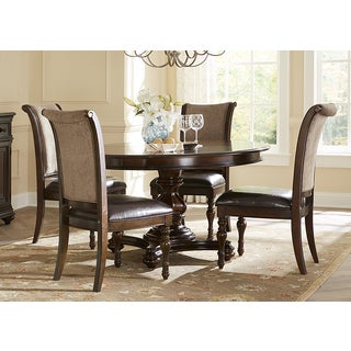 Liberty Plantation Cherry 5-piece Oval Dinette Set
