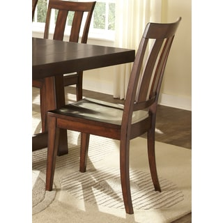 Liberty Tahoe Rustic Slat Back Side Chairs (Set of 2)