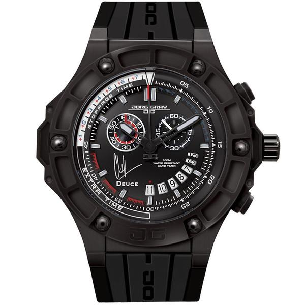 Jorg Grey 'Clint Dempsey' Limited Edition Men's Black Watch