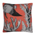 Peggy Fish Printed 20x20 Feather Fill Pillow