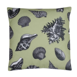 Randy Vintage Seashell 20x20 Feather Fill Pillow