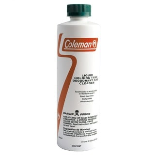 Coleman 16-ounce Brown/ Clear Liquid Deodorizer