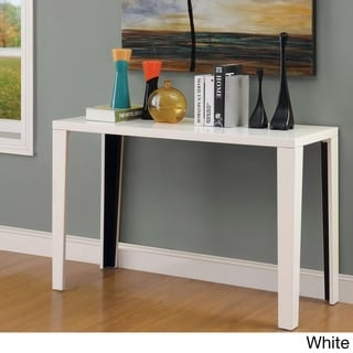 Furniture of America Lorzi High Gloss Lacquer Sofa Table