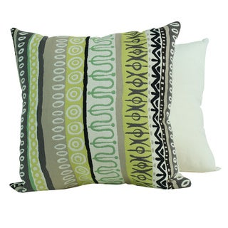 Tribal Lime Pillows (Set of 2)