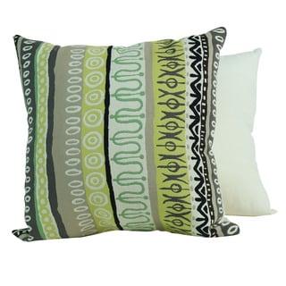 Tribal Lime Pillows (Set of 2)