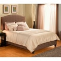 Laguna Char-brown Polyester Tweed Upholstered Bed