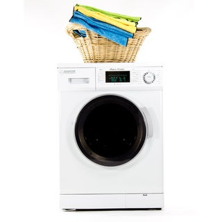 Equator 13 lb White Convertible Combo Washer Dryer with Optional Venting/ Condensing Drying