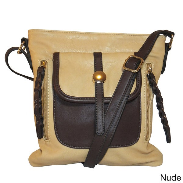 Camber Two-tone Cross-body Handbag
