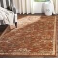 Safavieh Florenteen Rust/ Ivory Rug (4' x 6')