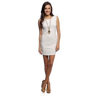 White Mark Women's 'Bonita' Sheath Dress