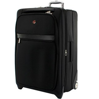 Swiss Gear Geneva Collection 28-inch Large Expandable Rolling Upright Suitcase