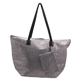 Roberto Amee Woven Straw Tote Bag (Case of 25)