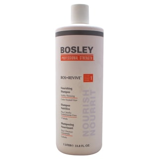 Bosley Bos Revive Nourishing 33.8-ounce Shampoo for Visibly Thinning Color Treated Hair