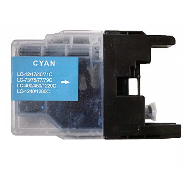 Compatible Brother LC75 Cyan Ink Cartridge