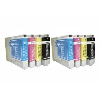 Compatible Brother LC51 Ink Cartridges (Pack of 8)