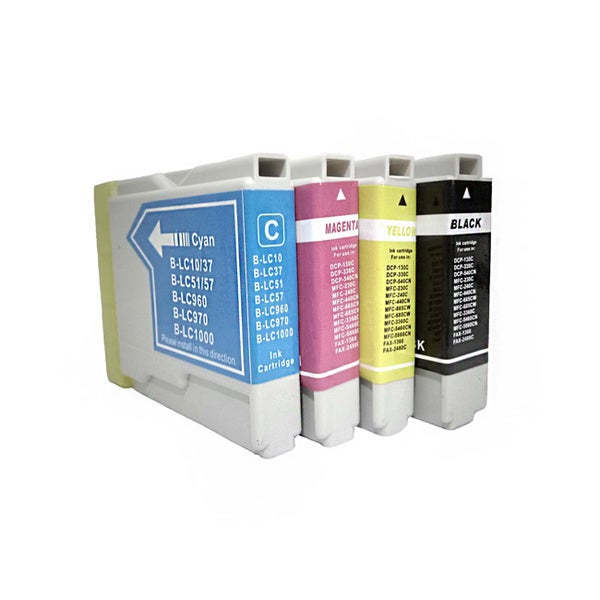 Compatible Brother LC51 Ink Cartridges (Pack of 4)