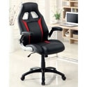 Furniture of America Enzo Height-adjustable Padded Office or Gaming Chair