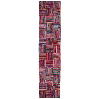 Brilliant Ribbon Tiles Rug Runner (2'6 x 12')