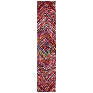 Brilliant Ribbon Vortex Rug Runner (2'6 x 12')