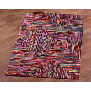 Brilliant Ribbon Blocks Rug (8' x 10')