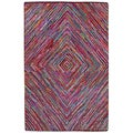 Brilliant Ribbon Vortex Rug (4' x 6')