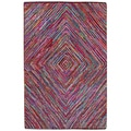 Brilliant Ribbon Vortex Rug (5' x 8')