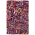 Brilliant Ribbon Tiles Rug (5' x 8')