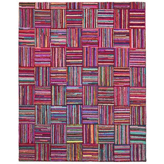 Brilliant Ribbon Tiles Rug (8' x 10')