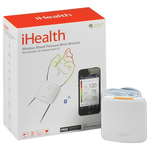 iHealth Wireless Wrist Blood Pressure Monitor