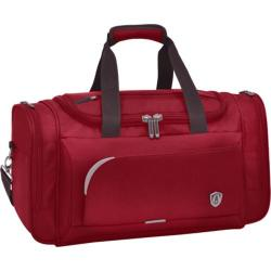 Traveler's Choice Birmingham 21in Travel Duffel Bag Red