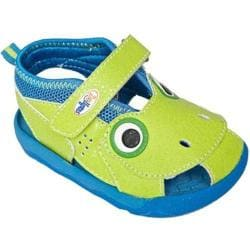 Children's Zooligans Tad the Frog Lime Punch/Blythe Blue