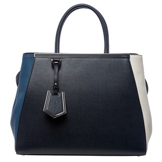 Fendi '2Jours' Tri-colored Leather Shopper Bag