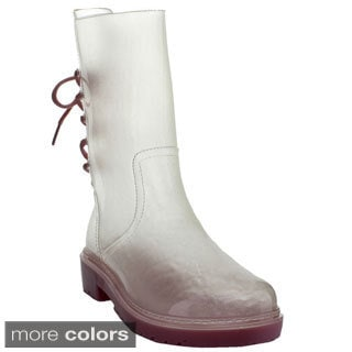 Bumper Women's Transparent Jelly Rain Boots