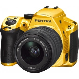 Pentax K-30 DSLR Camera with DA 18-55mm f/3.5-5.6 AL WR Zoom Lens