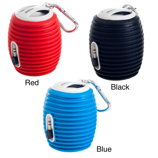 Sunbeam Rechargeable Portable Speaker with Retractable Cable
